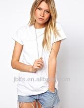 2014 Fashion pima cotton printing t shirt women t shirt