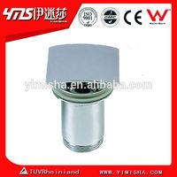 Brass pop-up matt chrome plated basin waste drain 3841-A