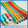 Bulk multicolor macio pena de pulso, toque de silicone pulseira de caneta