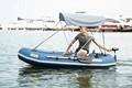 Aqua marina profissional barco de pesca inflável sem motor, bt-88890/91/92