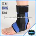 Mavi bağcıklı- esnek ayarlanabilir özelleştirilmiş neopren ayak bileği ağırlıkları