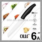 6a Plastic Handle Bread Ceramic Kitchen Knife Item
