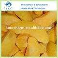 nuevo chino cultivos rebanada iqf melocotón amarillo