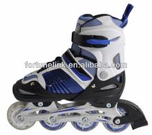 Kids flashing adjustable inline skates shoes