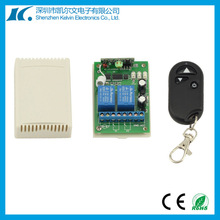 Motor Forward and Reverse 12V/24V 2-channel latched Learning Code Wireless Remote Control Switch KL-CLKZ02
