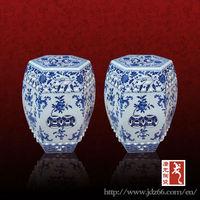 Antique jingdezhen chinese porcelain garden stool