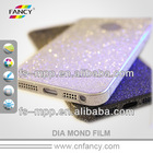 Direct factory price-magic blue diamond PET material screen protector for Iphone 5--OEM/ODM accepted