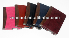 """Dual Color Leather Case with Card Slot for Amazon Kindle Fire HDX7 7"""" Stand Case"""