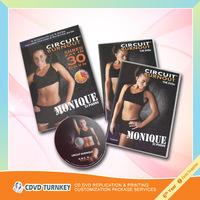 Replicate CD DVD in slim cd case