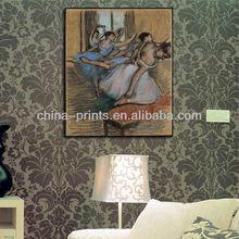 Hot Seller Ballet Girl in Art Canvas Painting