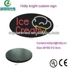 2014 Hidly custom super cheap led mini writable channel