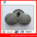 yx5420 moda de alta qualidade botões de metal para terno casaco