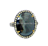 gemstone black spinel rings jewelry, designer gemstone diamond ring, 925 sterling silver 14k gold diamond ring jewelry