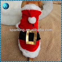 2013 New Dog Christmas Costume