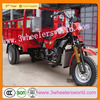 Chongqing Manufacture Chinese Top Seller 250cc Water Cooled 3 Wheeler for Sale