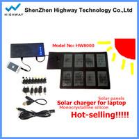 18v 20w foldable solar charger laptop/5.5V USB Charger