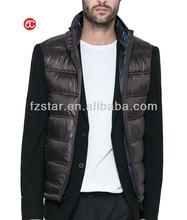 mens sleeveless jacket without hood AD6101
