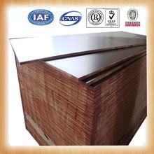china 1220*2440MM waterproof brown wax pine furniture