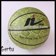 High quality size 7 PVC basketball