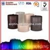 custom print luxury design cylinder paper candle packaging supplies