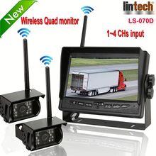 New! 7 inch digital wireless car camera bus/truck camera night vision camera waterproof-cam-109 (LS-070D)