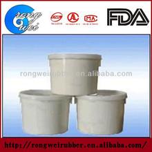 Two component polysulfide rubber adhesive sealant