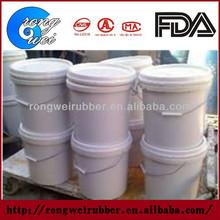 Process of two component polysulfide rubber sealant