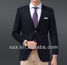 Black business man suit/trendy business suits for man/famous brand business suit