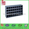 De metal compartimiento 32/ranura/agujero de almacenamiento bin taller de llenado del gabinete