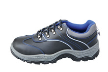 NMSAFETY split leather PU injection cheap price low style shoes for safety and work