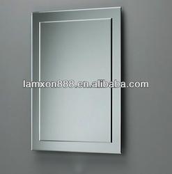 Double layer beauty bathroom mirror