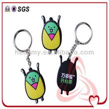 Colorful Souvenir Pvc 3D Promotion Keychain
