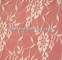 Nylon 200D bridal lace fabric 81# light lace fabric