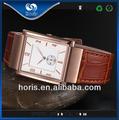 Venda quente ultrafinos amante relógios de pulso matérias-primas