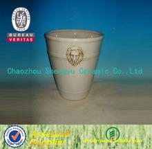 Chinese antique glazed ceramic vase