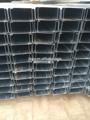 Galvanizado luz quilla de acero 50& 100 montantes c perfil de acero del canal c