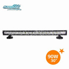 HOT SALE! Single Row LED light bar cree 90w truck roof off road tractor light bar high lumen SM6013-90