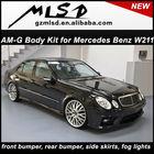 Automobile refitting manufacturer auto parts mercedes benz w211 amg type body kit