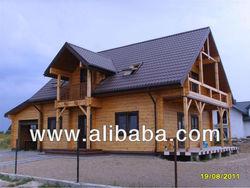Wooden Glulam House Villa