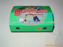 Foldable carton Binoculars