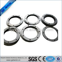 black tungsten ring