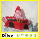 hot sale santa claus printing child straight christmas gift umbrella