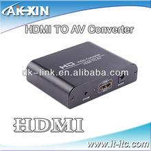 AV /VGA to HDMI adapter audio converter HD Converter