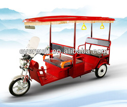 new nice looking 800W india auto rikshaw