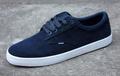 blue novo modelo de lona sapatos de camurça superior made in china