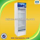 single glass door beverage visi cooler