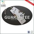 Ych-13067 etiquetas de papel reciclado y swing etiquetas para prendas de vestir