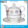 Delicate Custom Ceramic Tea Pot Set