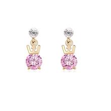9021 girl jewelry overseas cartoon earrings
