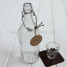 High Quality Water Glass Swing Top Bottles
